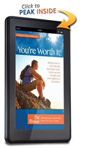 Devotions for Teens - You're Worth It! Kindle Cover Image