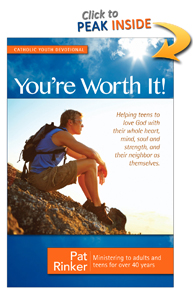 Devotions for Teens - You're Worth It! Cover Image